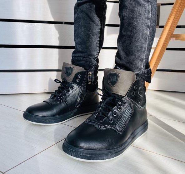Кожаные ботинки для детей отличного качества и в широком ассортименте