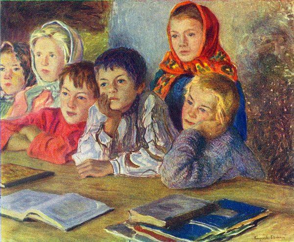 Сочинения-описания по картинам художников