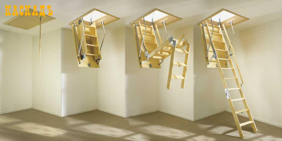 Раскладные лестницы из Италии