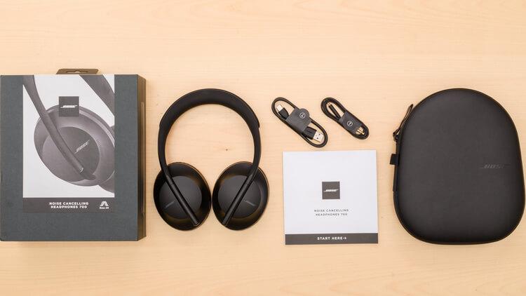Беспроводные наушники с шумоподавлением Bose Noise Cancelling Headphones 700 UC
