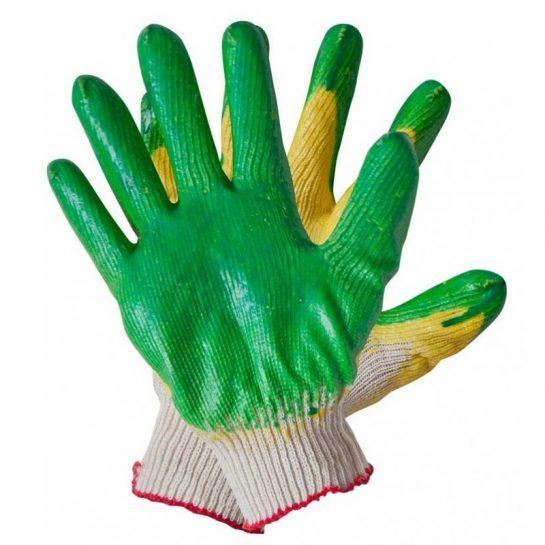 Качественные защитные хлопчатобумажные перчатки оптом
